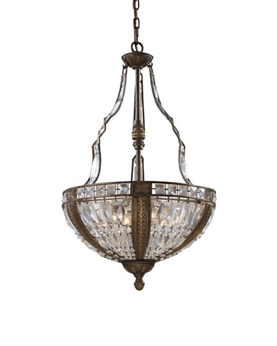 Trump Home Millwood 6-Light Pendant in Antique Bronze