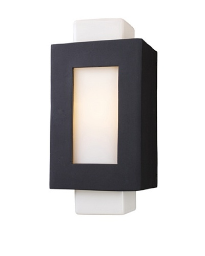 Artistic Lighting Sundborn 1 Light 19 Outdoor Sconce, Matte Black
