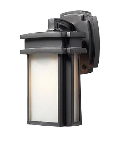 Artistic Lighting Sedona 1 Light 10 Outdoor Sconce, Graphite