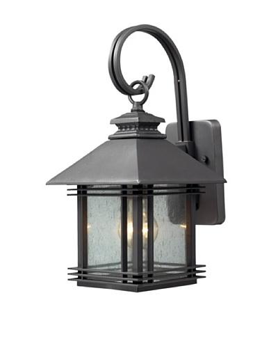 Artistic Lighting Blackwell 1 Light 16 Outdoor Sconce, Graphite