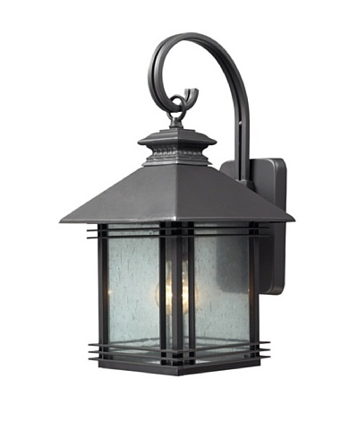 Artistic Lighting Blackwell 1 Light 19 Outdoor Sconce, Graphite