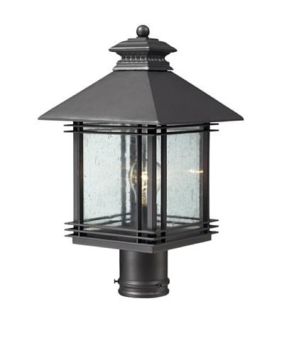 Artistic Lighting Blackwell 1 Light 18 Outdoor Post Light, Graphite