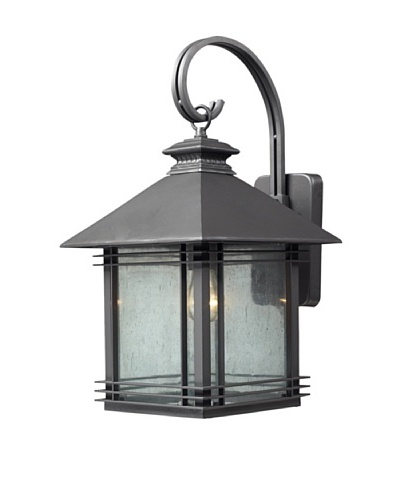 Elk Lighting 42302/1 Blackwell One Light Outdoor Sconce, GraphiteAs You See