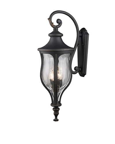 Artistic Lighting Grand Aisle 4 Light 35 Outdoor Sconce, Weathered Charcoal