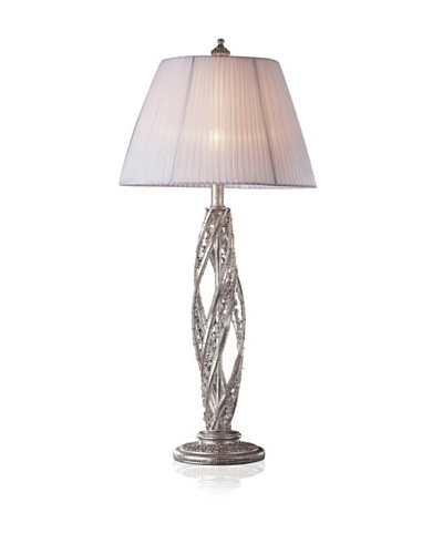 Artistic Lighting Renaissance 1-Light Table Lamp, Sunset Silver