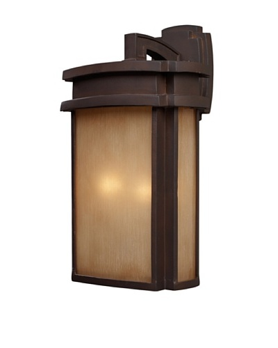 Artistic Lighting Sedona 2 Light 20 Outdoor Sconce, Clay Bronze