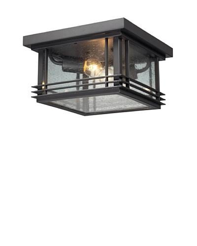 Artistic Lighting Blackwell 2 Light 7 Outdoor Flushmount, Graphite