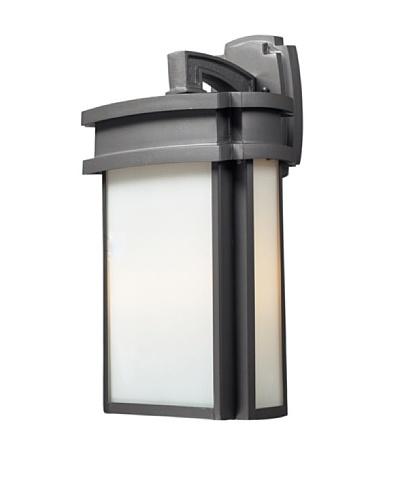 Elk Lighting 42342/2 Sedona Two Light Outdoor Sconce, Graphite