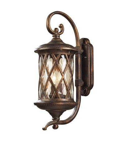 Artistic Lighting Barrington Gate 2 Light 24 Outdoor Sconce, Hazelnut Bronze