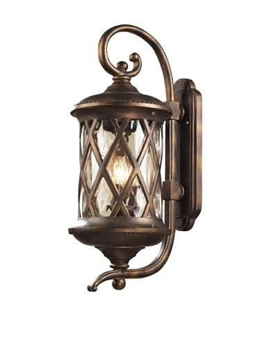Artistic Lighting Barrington Gate 3 Light 15 Outdoor Sconce, Hazelnut Bronze