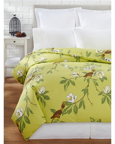 Elsie Green Happy Bird Duvet