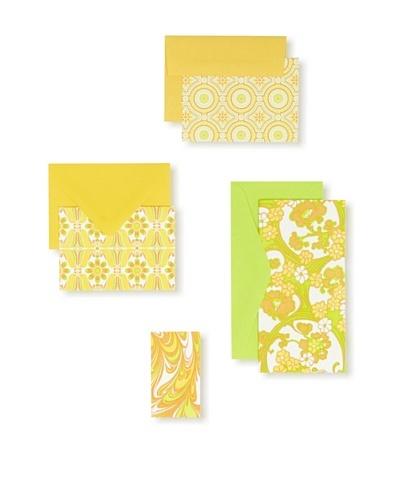 Elum Linoleum Collection, Yellow/Orange