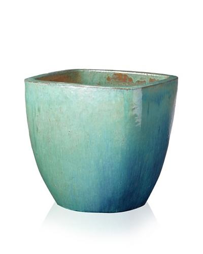 Emissary Square Pot Planter [Green]