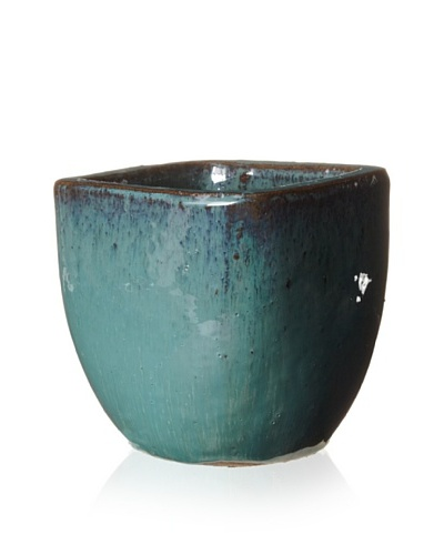 Emissary Square Pot Planter [Green]