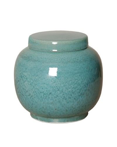 Emissary Lantern Temple Jar, Lagoon Speckle