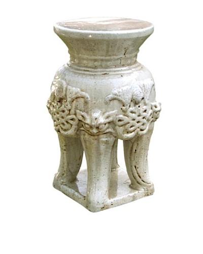 Emissary Ceramic Stool With 4 Legs