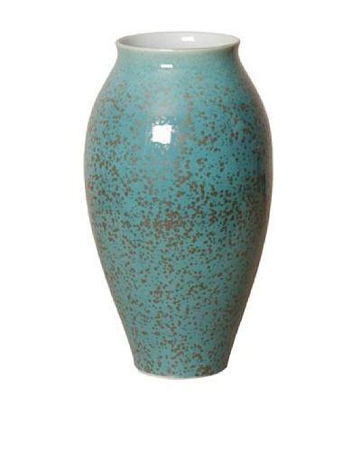 Emissary Tall Flair Vase, Lagoon Speckle