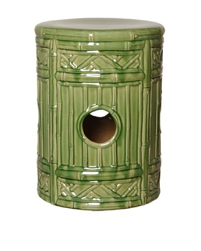 Emissary Ceramic Bamboo Stool