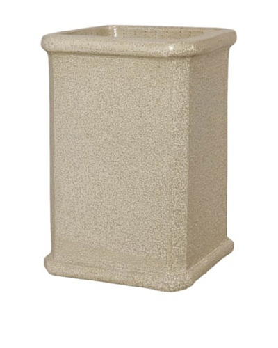 Emissary Square Speckle Pot Planter [Yellow]