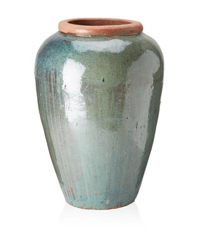 Emissary Jar, Rough, Blue Green, 16 x 23H [Blue Green]