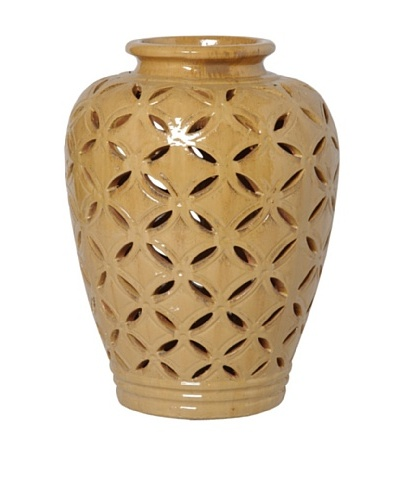 Emissary Ceramic Lattice Jar