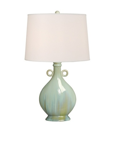 Emissary Lighting Two Rings Table Lamp, Powder Blue
