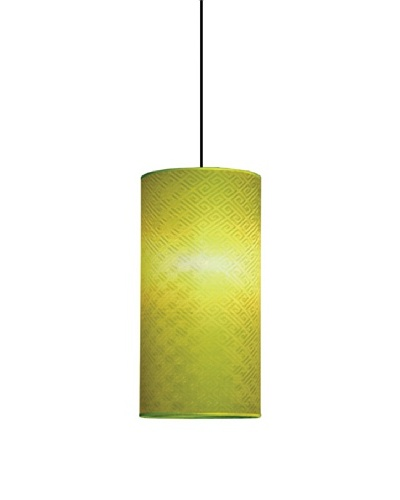 Emissary Lighting Silk Key Pendant Lamp [Lime]