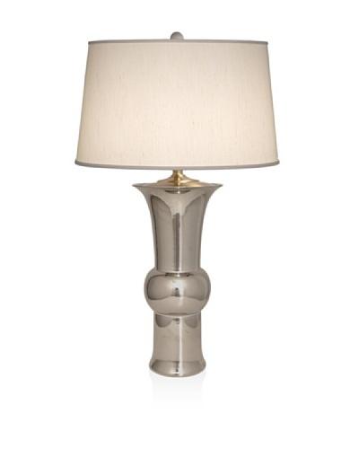 Emissary Lighting Metallic Lamp, Silver