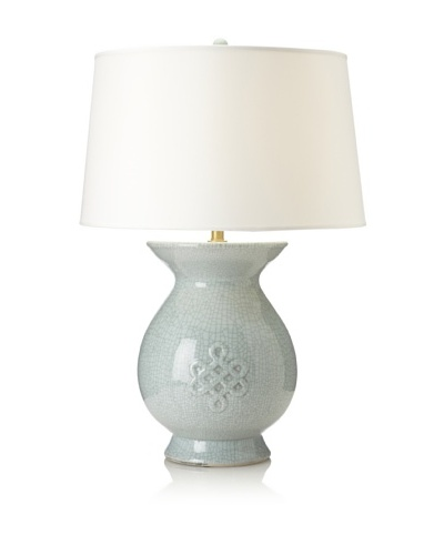 Emissary Lighting Eternity Table Lamp, Powder Blue
