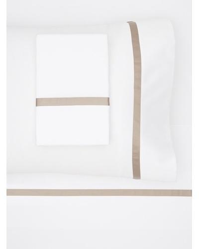 Errebicasa Egadi Sheet Set [White/Khaki]