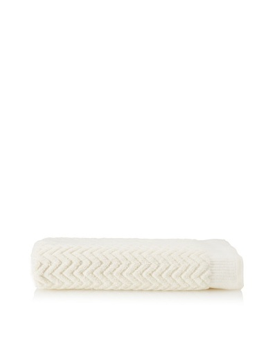 Espalma Sensational Zig-Zag Bath Sheet , IvoryAs You See