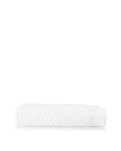 Espalma Sensational Zig-Zag Bath Sheet , White