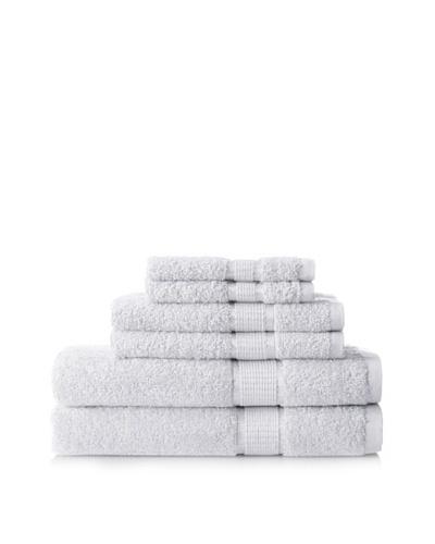 Espalma Ambassador 6-Piece Towel Set, White