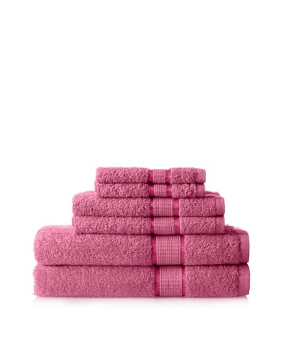 Espalma Ambassador 6-Piece Towel Set, Raspberry