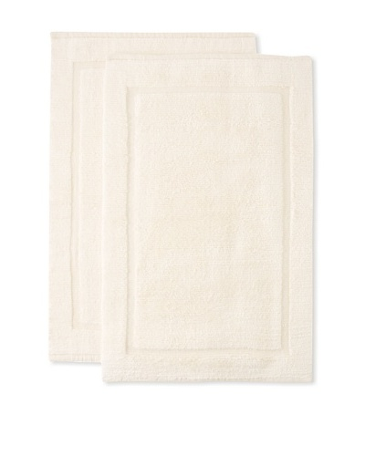 Espalma Set of 2 Signature Bath Rugs [Cream]