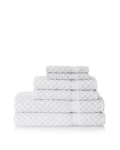 Espalma Waffle 6-Piece Towel Set