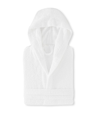 Espalma Hooded Terry Robe, White