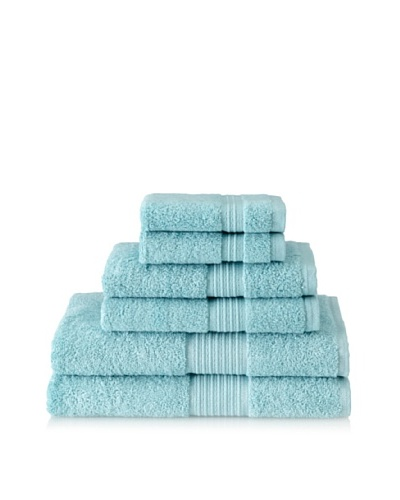 Espalma Prestige 6-Piece Towel Set, Aquamarine