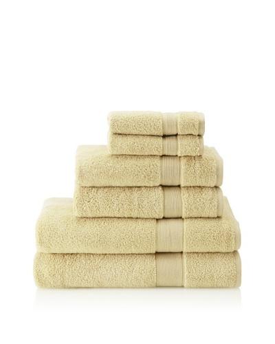 Espalma 6-Piece Signature Bath Towel Set, Leek
