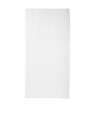 Esplama Hibiscus Beach Towel, White