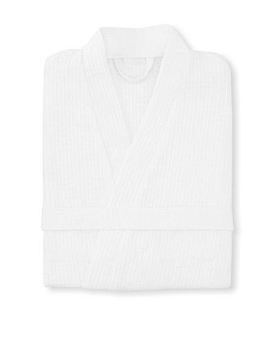 Esplama Club Waffle Resort Robe, white, 39