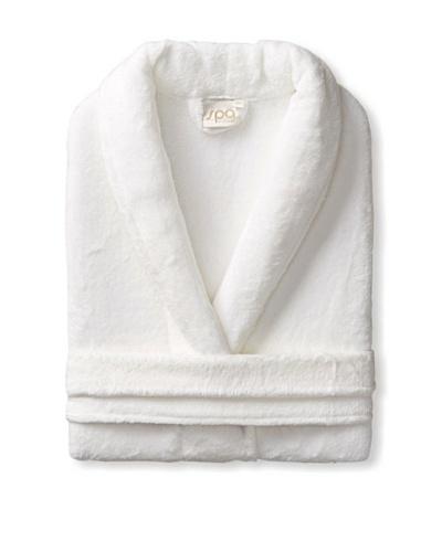 Esplama Cuddle Shawl Robe, White