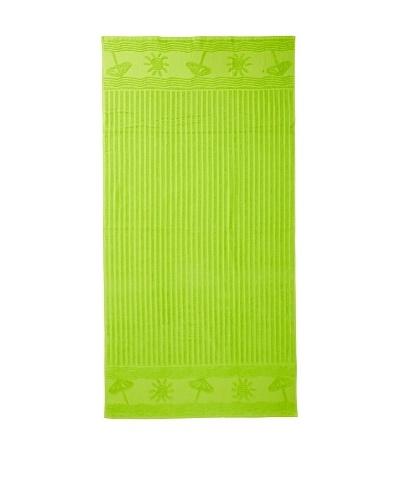 Esplama Sun/Umbrella Beach Towel, Lime