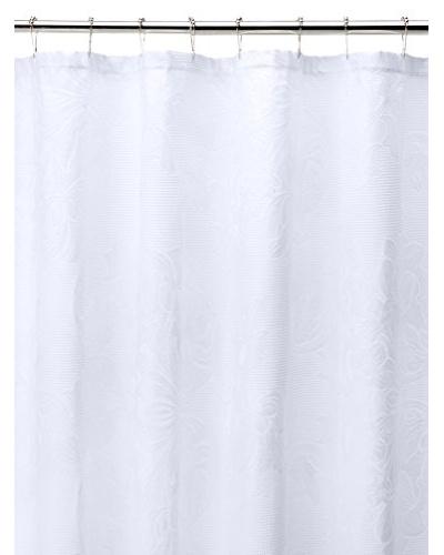 Esplama Ivana Shower Curtain, White