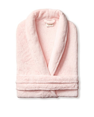 Esplama Cuddle Shawl Robe, Pink