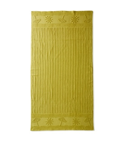 Esplama Sun/Umbrella Beach Towel, Palm Green