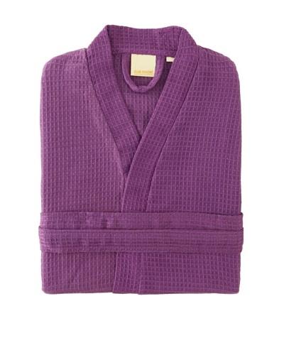 Esplama Club Waffle Resort Robe, Purple, 39