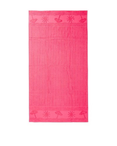 Esplama Sun/Umbrella Beach Towel, Fuchsia