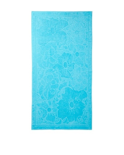Esplama Hibiscus Beach Towel, Aqua