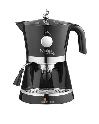 Espressione Moka Aroma Espresso Machine, Black